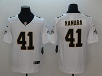 Mens Nfl New Orleans Saints #41 Alvin Kamara White Vapor Untouchable Limited Jersey