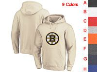 Mens Nhl Boston Bruins 9 Colors One Front Pocket Hoodie Jersey