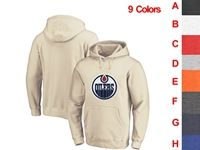 Mens Nhl Edmonton Oilers 9 Colors One Front Pocket Hoodie Jersey