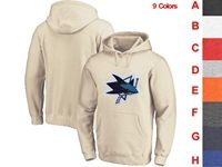 Mens Nhl San Jose Sharks 9 Colors One Front Pocket Hoodie Jersey