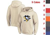 Mens Nhl Pittsburgh Penguins 9 Colors One Front Pocket Hoodie Jersey