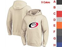 Mens Nhl Carolina Hurricanes 9 Colors One Front Pocket Hoodie Jersey