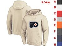 Mens Nhl Philadelphia Flyers 9 Colors One Front Pocket Hoodie Jersey
