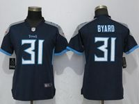 Women Tennessee Titans #31 Kevin Byard Navy Blue 2018 Vapor Untouchable Limited Player Jersey
