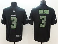 Mens Nfl Seattle Seahawks #3 Russell Wilson 2018 Fashion Impact Black Vapor Untouchable Limited Jersey