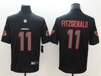 Mens Nfl Arizona Cardinals #11 Larry Fitzgerald 2018 Fashion Impact Black Vapor Untouchable Limited Jersey
