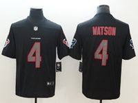 Mens Nfl Houston Texans #4 Deshaun Watson 2018 Fashion Impact Black Vapor Untouchable Limited Jersey
