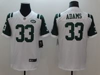 Mens New York Jets #33 Jamal Adams White Vapor Untouchable Limited Player Jersey