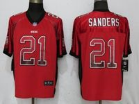 Mens Nfl San Francisco 49ers #21 Deion Sanders Red Drift Fashion Elite Nike Jersey