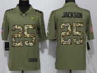 Mens Nfl Tennessee Titans #25 Adoree' Jackson Olive Camo Carson 2017 Salute To Service Limited Jersey