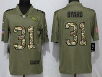 Mens Nfl Tennessee Titans #31 Kevin Byard Olive Camo Carson 2017 Salute To Service Limited Jersey