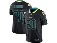 Mens Nfl Jacksonville Jaguars #20 Jalen Ramsey 2018 Lights Out Black Vapor Untouchable Limited Jersey