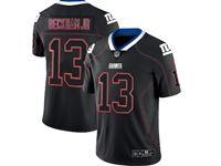 Mens Nfl New York Giants #13 Odell Beckham Jr 2018 Lights Out Black Vapor Untouchable Limited Jersey
