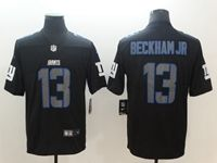 Mens Nfl New York Giants #13 Odell Beckham Jr 2018 Fashion Impact Black Vapor Untouchable Limited Jersey