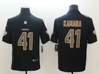 Mens Nfl New Orleans Saints #41 Alvin Kamara 2018 Fashion Impact Black Vapor Untouchable Limited Jersey