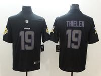 Mens Nfl Minnesota Vikings #19 Adam Thielen 2018 Fashion Impact Black Vapor Untouchable Limited Jersey