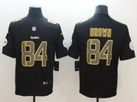 Mens Nfl Pittsburgh Steelers #84 Antonio Brown 2018 Fashion Impact Black Vapor Untouchable Limited Jersey