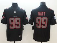 Mens Nfl Houston Texans #99 Jj Watt 2018 Fashion Impact Black Vapor Untouchable Limited Jersey