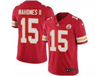 Mens Nfl Kansas City Chiefs #15 Patrick Mahomes Ii Red 2018 Vapor Untouchable Limited Player Jersey
