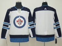 Mens Nhl Winnipeg Jets Blank White Adidas Jersey