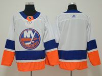 Mens Nhl New York Islanders Blank White Adidas Jersey