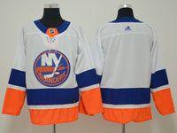 Mens Nhl New York Islanders Blank White Adidas Jersey