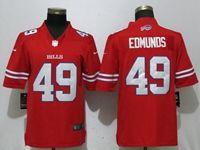 Mens Nfl Buffalo Bills #49 Tremaine Edmunds Red 2018 Vapor Untouchable Limited Jersey
