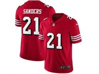 Mens Nfl San Francisco 49ers #21 Deion Sanders Red Color Rush Vapor Untouchable Limited Jersey