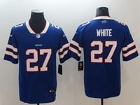 Mens Nfl Buffalo Bills #27 Tre'davious White Blue Vapor Untouchable Limited Player Jersey