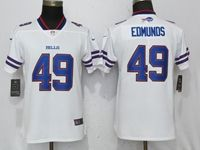 Women Nfl Buffalo Bills #49 Tremaine Edmunds White 2017 Vapor Untouchable Limited Player Jersey