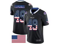 Mens Nfl Buffalo Bills #49 Tremaine Edmunds 2018 Usa Flag Fashion Black Vapor Untouchable Limited Jersey