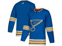 Mens Nhl St.louis Blues Blank Adidas Blue Alternate Authentic Player Jersey