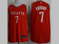 Mens 2018-19 Season Nba Houston Rockets #7 Anthony Red Swingman Nike Jersey