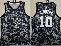 Mens 2018-19 Nba San Antonio Spurs Spurs #10 Demar Derozan Camo Nike Jersey