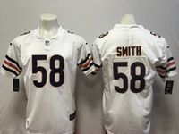 Mens Nfl Chicago Bears #58 Roquan Smith White Vapor Untouchable Limited Player Jersey