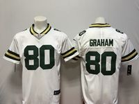 Mens Nfl Green Bay Packers #80 Jimmy Graham White Vapor Untouchable Limited Player Jersey