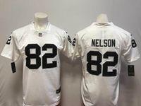 Mens Nfl Oakland Raiders #82 Jordy Nelson White Vapor Untouchable Limited Player Jersey