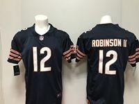 Mens Nfl Chicago Bears #12 Allen Robinson Blue Vapor Untouchable Limited Player Jersey