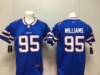 Mens Nfl Buffalo Bills #95 Kyle Williams Blue Vapor Untouchable Limited Player Nike Jersey