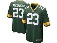 Mens Nfl Green Bay Packers #23 Jaire Alexander Green Nike Game Player Jersey