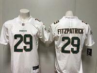 Mens Miami Dolphins #29 Minkah Fitzpatrick White Vapor Untouchable Limited Player Jersey