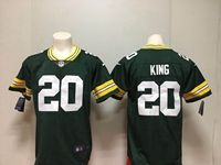 Mens Nfl Green Bay Packers #20 Kevin King Green Vapor Untouchable Limited Player Jersey