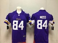 Mens Nfl Minnesota Vikings #84 Randy Moss Purple Vapor Untouchable Limited Player Jersey