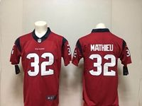 Nfl Houston Texans #32 Tyrann Mathieu 2018 Red Vapor Untouchable Limited Player Jersey