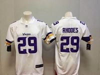 Mens Nfl Minnesota Vikings #29 Xavier Rhodes White Vapor Untouchable Limited Player Jersey