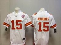 Mens Nfl Kansas City Chiefs #15 Patrick Mahomes White Vapor Untouchable Limited Player Jersey