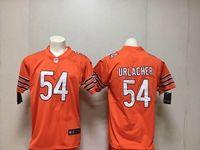 Mens Nfl Chicago Bears #54 Brian Urlacher Orange Vapor Untouchable Limited Player Jersey