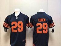 Mens Nfl Chicago Bears #29 Tarik Cohen Blue Alternate Vapor Untouchable Limited Player Jersey