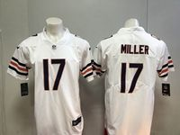 Mens Nfl Chicago Bears #17 Anthony Miller White Vapor Untouchable Limited Player Jersey