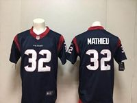 Nfl Houston Texans #32 Tyrann Mathieu 2018 Blue Vapor Untouchable Limited Player Jersey